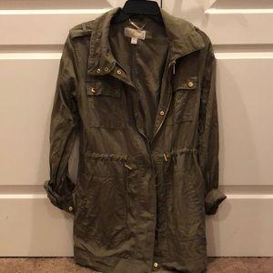 Michael Kors Olive Cargo Jacket